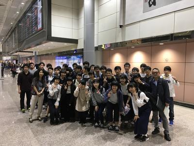台湾 桃園国際空港 にて