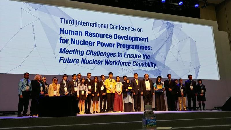 Fukushima High School participates IAEA International Student Competition